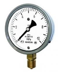 МВ-3ВУ -0,1...1,5 МПа (-1...15 кгс/см2)