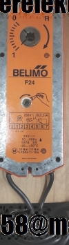 Belimo F24 электропривод белимо